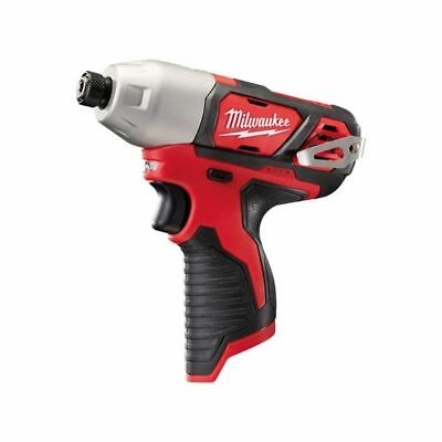 """New Milwaukee 12V Li-Ion Cordless Compact 1/4"""" Hex Impact Driver Skin Only"""