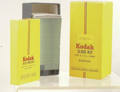 Vinta Photographia: Kodak Bantam Slide Kit Complete In Orig. Packaging Ref555A