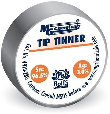 MG Chemicals SAC305 Lead Free Tip Tinner, (28g) 1 Oz Container, No Clean