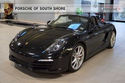 2014 Porsche Boxster S 2014 S Used Certified 3.4L H6 24V Manual RWD Convertible Premium
