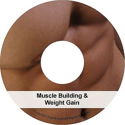 How to Body Building Build Muscle & Gain Weight Men Books PDFs on CD