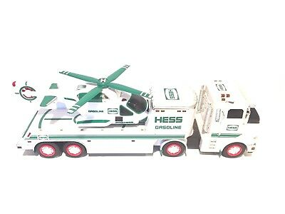 2006 Hess Gasoline Truck With Helicopter - Tested