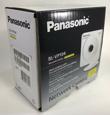 Panasonic - BL-VP104P - Home Security HD 1280 x 720 H.264 Network Camera