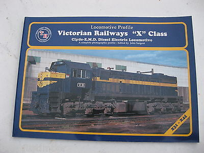"Victorian Railways - Locomotive Profile ""X"" Class - Clyde - E.M.D. - Train Hobby"