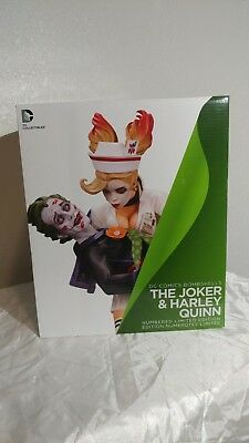 Dc Comics Bombshells The Joker And Harley Quinn Second Edition Statue