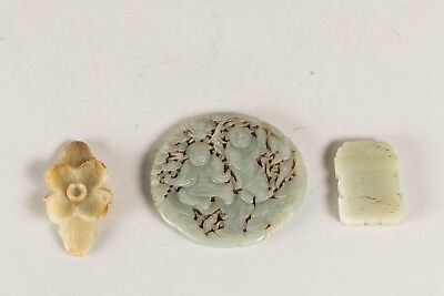 Group Of Chinese Antique Jade Ornaments