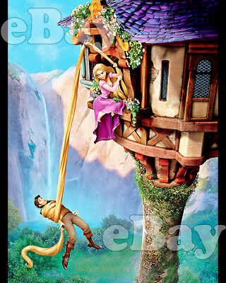 Rare! WALT DISNEY'S TANGLED Cartoon Color 8 X 10 Photo #2 RAPUNZEL