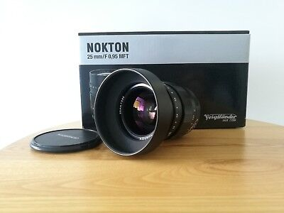 Voigtlander 25mm f/0.95 Nokton Lens for Micro Four Third