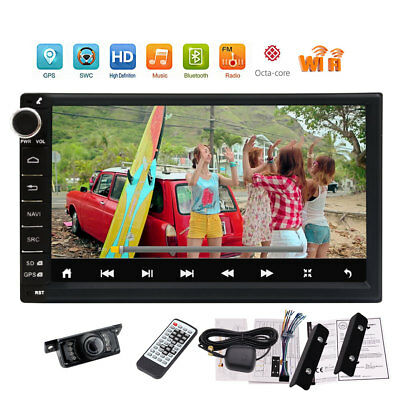 """Double Din 7""""Android 7.1 Car Stereo GPS Radio Universal WIFI 2GB RAM No-DVD"""