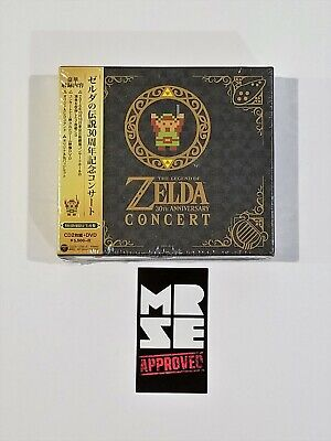 The Legend of Zelda 30th Anniversary Concert Limited Edition 2 CD + DVD Nintendo