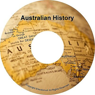 Australia Australian History Australiana Aboriginal Textbooks Books PDFS on CD