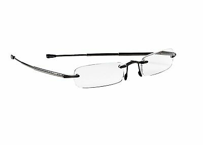 Callaway R915-FB Scorecard Reader Flip-top Glasses, Black, +1.5