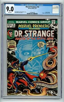Marvel Premiere #10 CGC 9.0  Dr. Strange Death of the Ancient One phl1