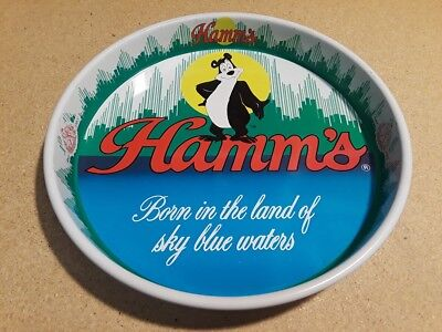 Hamm's Beer Serving Tray - Olympia Brewing Co, Tumwater Washington, VERY NICE!
