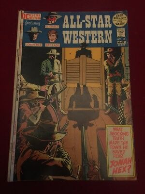 ALL-STAR WESTERN #10 1ST Appearance of JONAH HEX MEGA KEY ISSUE 1972