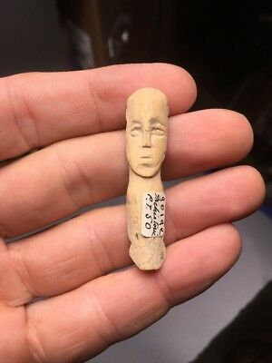 Ancient Roman Egyptian Carved Figure 100-400 C.E. Ex Hans Goedicke Collection