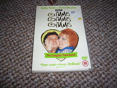 Gimme Gimme Gimme 3rd Series DVD  Region 2 PAL Complete Third Series 3