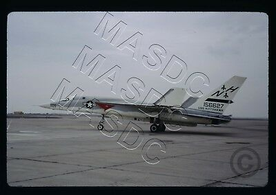 35mm Kodachrome Aircraft Slide - RA-5C Vigilante BuNo 156627 RVAH-6 - Oct 1970