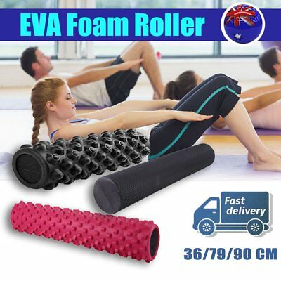 Fitness EVA Yoga Foam Roller for Home Exercise Gym Pilates Physiotherapy ON
