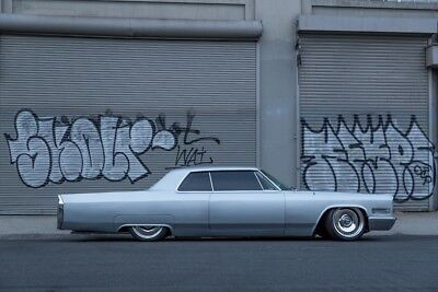 """1966 Cadillac DeVille  1966 Cadillac Coupe Deville AC Shaved Bagged 20"""" Wheels"""