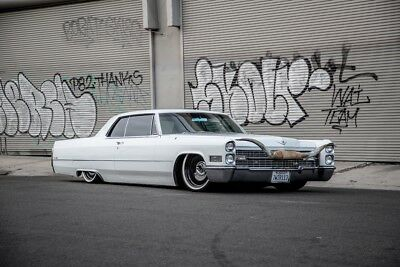 """1966 Cadillac DeVille  1966 Cadillac Coupe Deville COLD AC!! 46,000 Original Miles! Bagged 20"""" Wheels"""