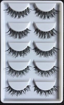 5Pairs Soft Long Fake  Eyelashes (our star buy,sold out more than 400)Gone fast