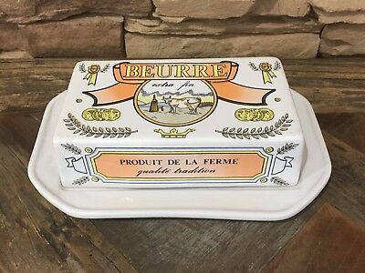 Vintage French Butter Dish