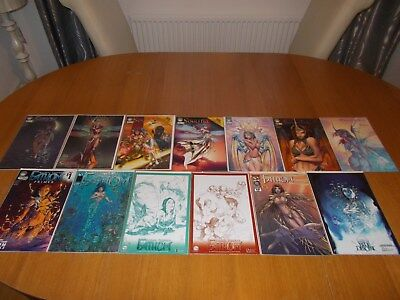 Michael Turner Soulfire/fathom Collection Of Rare Comics