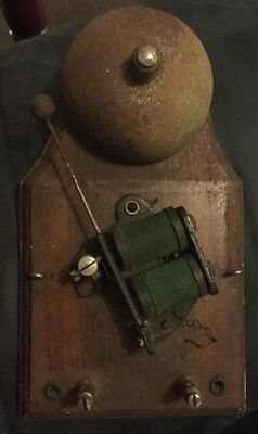 Vintage Wall Mounted Electric Fire/School Bell