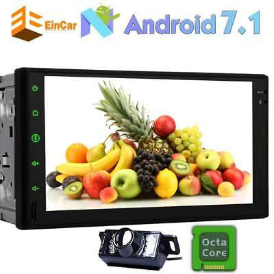 """Double 2Din 7""""Android 7.1 Car Radio Stereo GPS Indash Touch Screen WIFI 8 Core"""