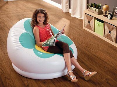 Novelty Armchair Inflatable With Flower 102X99X64Cm Intex 68574