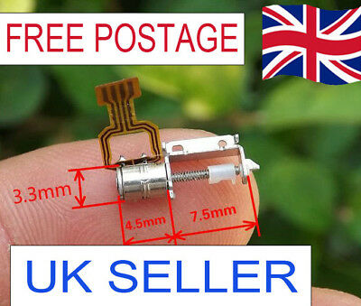 Micro Screw Stepper Motor Miniature 2-phase 4-wire step motor driver UK SELLER