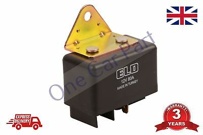 80A DC 12V 4 Pin DIY Power Relay Relay SPDT Pr Auto Car Truck Vehicle F4I5