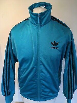 Vintage Adidas Trefoil Early 90's Original Firebird Tracksuit Top Jacket S Mens
