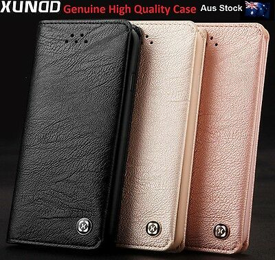 Samsung Galaxy S8  S8 plus Note 8 Genuine XUNDD Leather Wallet card Case Cover