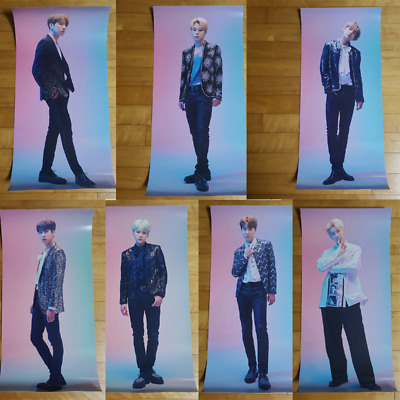 BTS The Wings Tour The Final Official Goods Poster Unfolded with Hard Tube