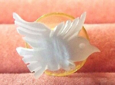 Vintage Mother of Pearl Bird Pin