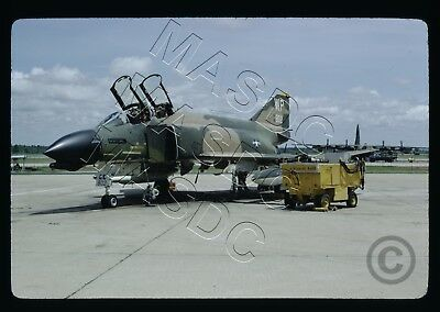 "35mm Kodachrome Aircraft Slide - F-4D Phantom 66-8802 ""WP"" 479th TFS Korat 1974"