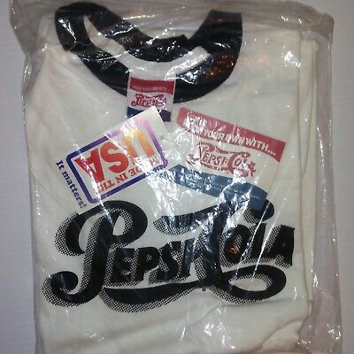Pepsi cola tee shirt new with packaging.