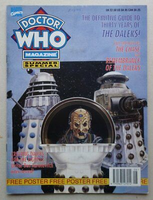 Doctor Who Summer Special Magazine 1993 + Free Gift Poster   (phil-comics)