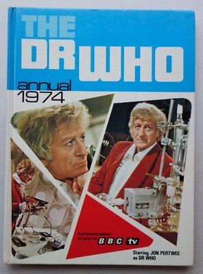 Dr Who Comic Annual 1974 (Doctor Who) VG (phil-comics)