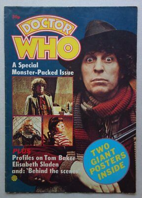 Doctor Who Special Monster-Packed Poster Magazine (1980s) VG+ (phil-comics)