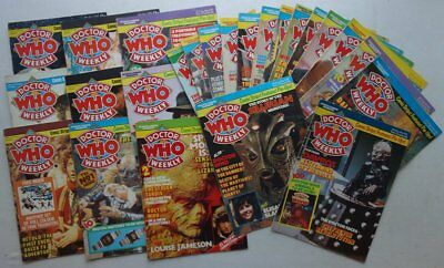 Doctor Who Weekly Comic #1-24 (1979-80) Most G/VG (phil-comics)