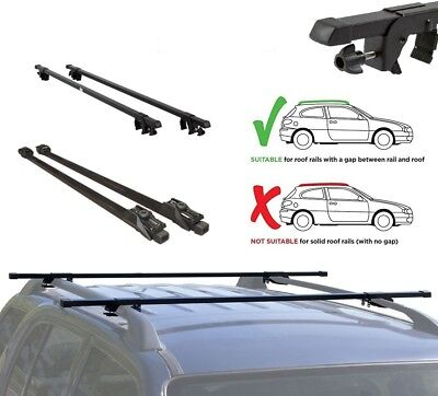 Anti Theft Lockable Roof Rack Bars for Volvo V70 with Roof Rails