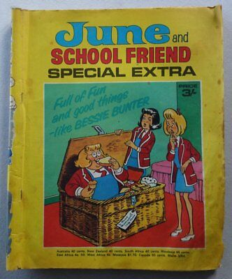 June and School Friend comic Special Extra Special 1970 FR/GD (phil-comics)