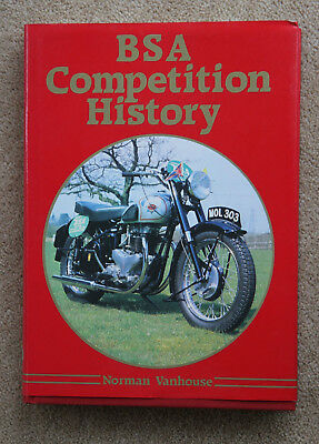 BSA Competition History by Norman Vanhouse - 1986