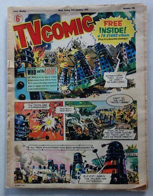 TV Comic #788 - 21 Jan 1967 DOCTOR WHO and DALEKS COVER GD- (phil-comics)