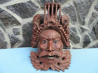 Wood palisander mask china decoration