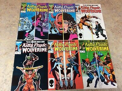 Kitty Pryde And Wolverine  #1,2,3,4,5,6 Of 6 Lot Of 6 Vf Comic 1984-1985 Marvel