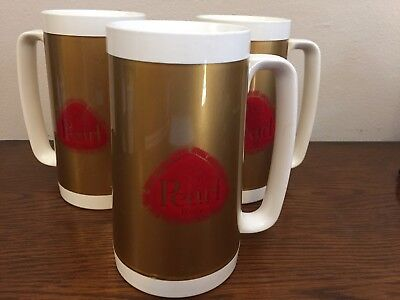 Retro Pearl Beer Thermo-Serv Insulated Beer Mug